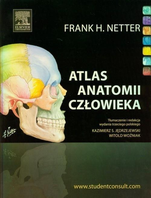 Atlas anatomii człowieka Nettera Łacińskie mianownictwo anatomiczne