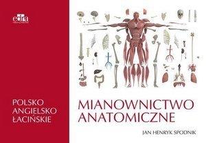 Mianownictwo anatomiczne polsko-angielsko-łacińskie