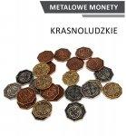 Metalowe Monety - Krasnoludzkie (zestaw 24 monet)