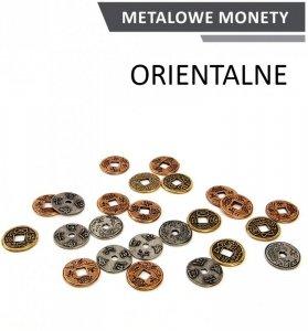 Metalowe Monety - Orientalne (zestaw 24 monet)