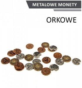 Metalowe Monety - Orkowe (zestaw 24 monet)