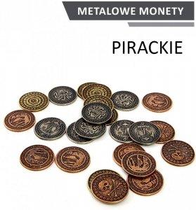 Metalowe Monety - Pirackie (zestaw 24 monet)