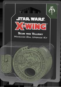 Star Wars: X-Wing - Scum and Villainy Maneuver Dial Upgrade Kit (druga edycja)