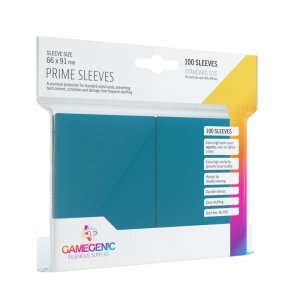 Gamegenic: Prime CCG Sleeves (66x91 mm) - Blue, 100 sztuk