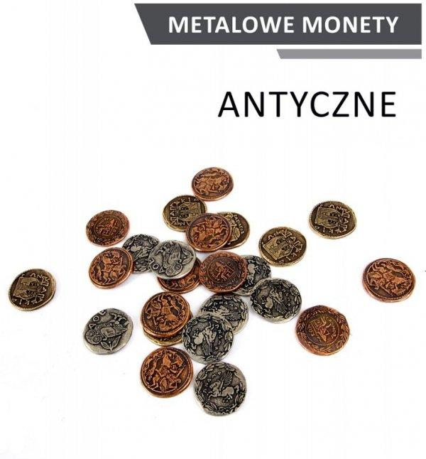 Metalowe Monety - Antyczne (zestaw 24 monet)