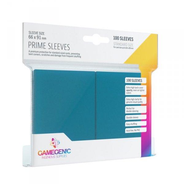Gamegenic: Prime CCG Sleeves (66x91 mm) - Blue, 100 sztuk
