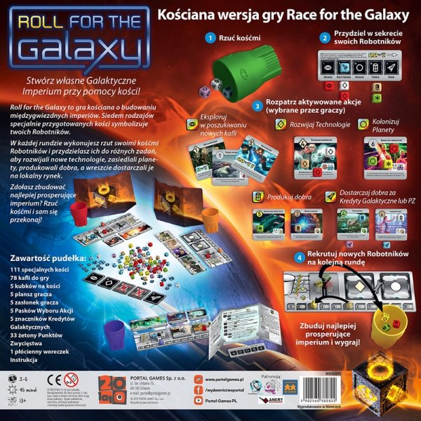 Roll for the Galaxy - przedsprzedaż
