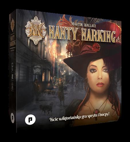 Nanty Narking nowa edycja pudełko