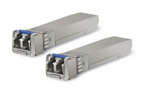 Moduł UBIQUITI UF-SM-10G Single-Mode 10Gb/s SFP+ 2xLC (2 szt.)