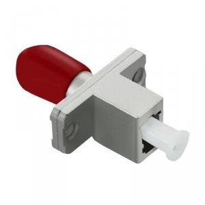 Adapter światłowodowy hybrydowy Qoltec LC/UPC-ST/UPC simplex MultiMode