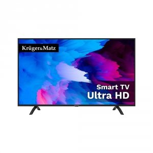 """Telewizor Kruger&Matz 50"""" seria A, DVB-T2/S2 H.265 UHD 4K smart"""
