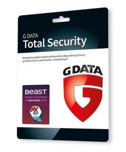 GDATA Total Security 2PC 1rok karta-klucz