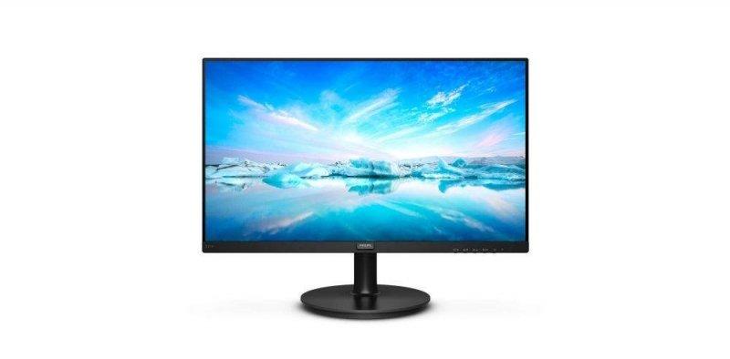 """Monitor Philips 21,5"""" 221V8A/00 VGA HDMI głośniki."""