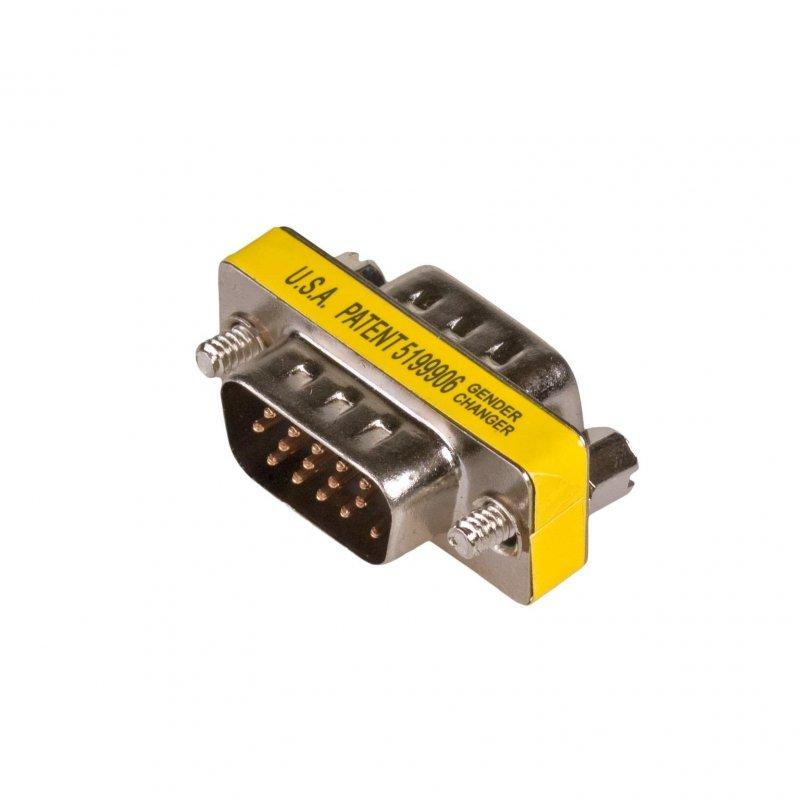 Adapter Akyga AK-AD-19 D-Sub 15-pin (M) - D-Sub 15-pin (M)