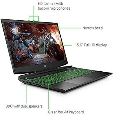 "Notebook GAMING HP 15-cx0032nc 15,6"" FHD/i5-8300H/8GB/SSD512GB/UHD630/GTX1050Ti/W10"