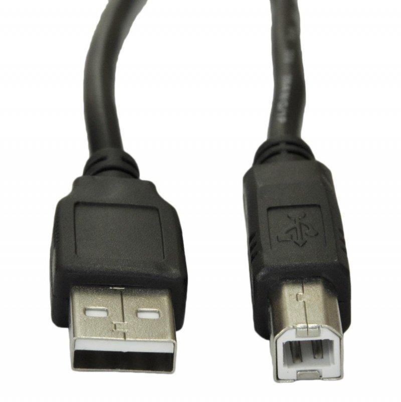 Kabel USB 2.0 Akyga AK-USB-04 USB A(M) - B(M) 1,8m czarny