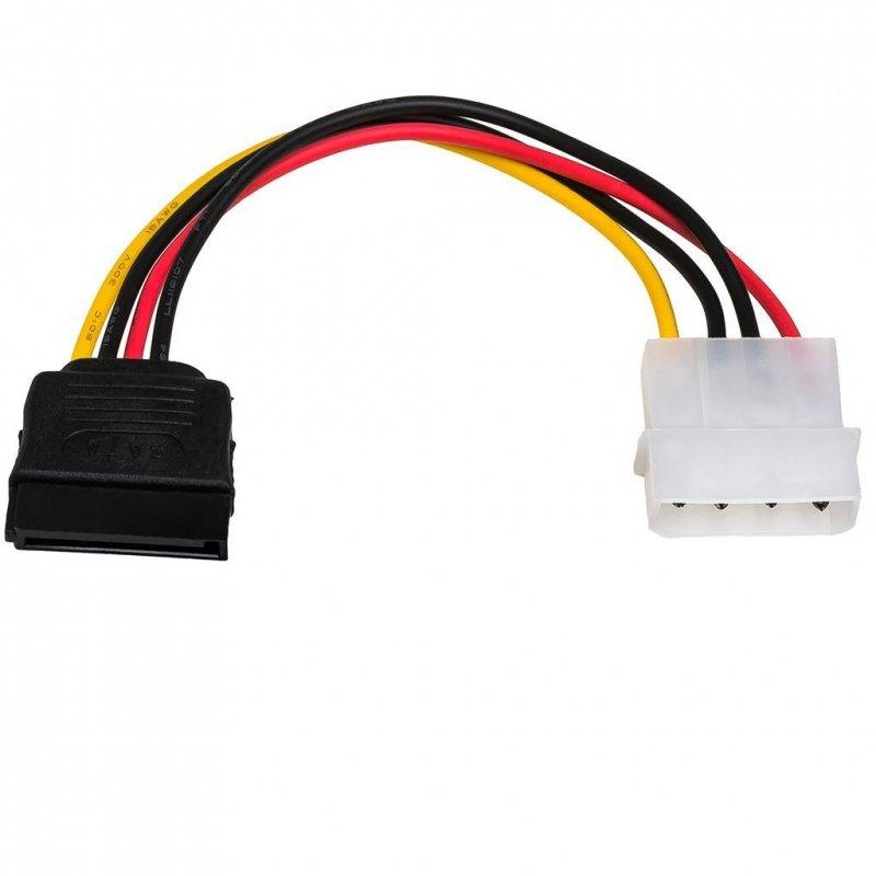 Kabel adapter Akyga AK-CA-17 Molex (M) - SATA (F) 0,15m