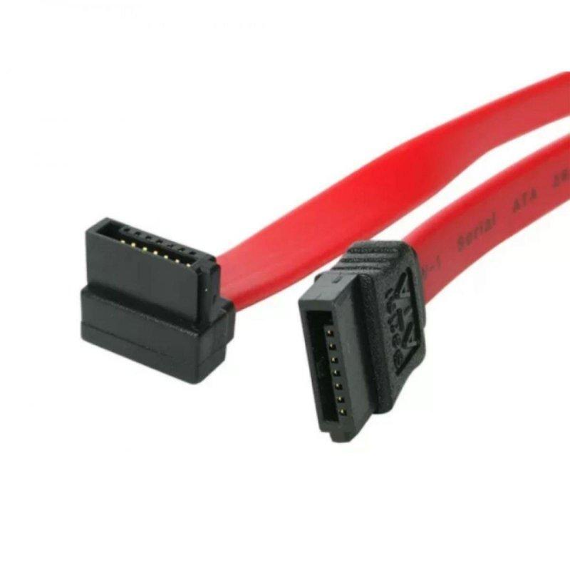 Kabel SATA Akyga AK-CA-51 SATA-III 6Gbs kątowy 0,5m