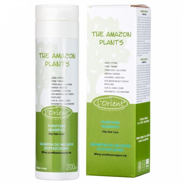 AMAZON PLANTS SZAMPON oczyszczający