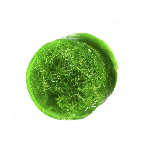 MYDŁO GLICERYNOWE zielona herbata z gąbką loofah