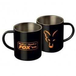 KUBEK FOX Stainless Steel Mug 400ml CLU254