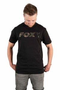 Fox t-shirt Black/Camo Chest Print T-Shirt S CFX019