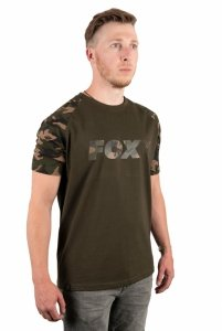 Fox CAMO/KHAKI CHEST PRINT T-SHIRT S CFX013