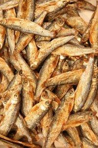 Suszone rybki Stinte 100g