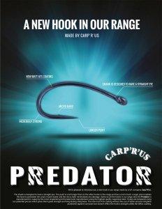 Carp'R'Us - Predator - ATS - Rozmiar 4