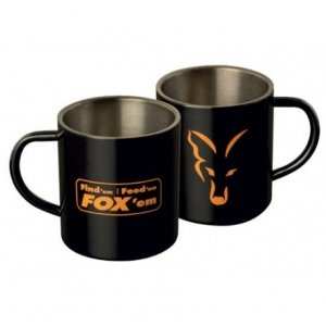 KUBEK FOX Stainless Steel Mug 400ml CLU254