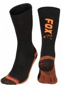 Fox Collection Socks 44-47 Black/Orange CFW117