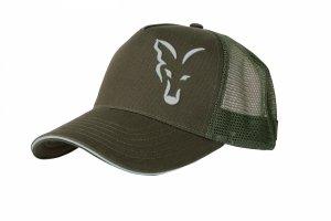 Fox GREEN & SILVER TRUCKER CAP CPR995