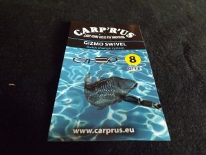 Carp'R'Us - Gizmo Swivels Size 8