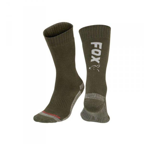Fox Collection Socks 40-43 Green/Silver CFW118