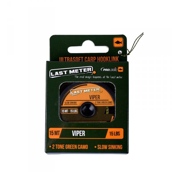 50083 PROLOGIC VIPER ULTRA SOFT 15m 35lbs