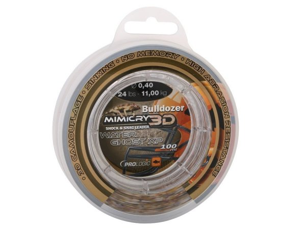 48461 BULLDOZER MIMICRY WATER GHOST XP 0,60 mm 44lbs