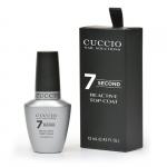 Top nabłyszczający szybkoschnący 7 sekund - Cuccio Super 7 seconds Top Coat 15ml (do lakierów klasycznych)