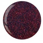 Puder do manicure tytanowy - CUCCIO DIP - Purple Red Glitter 14 G (5595)