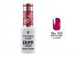 103 Fiery Fuchsia - kremowy lakier hybrydowy Victoria Vynn PURE (8ml)