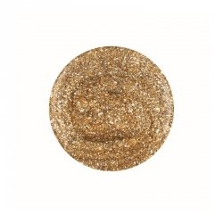 Puder do manicure tytanowego kolor Glitter & Gold DIP 23 g (1610076) GELISH