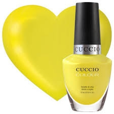 Cuccio 6156 Lakier do paznokci 13 ml Lemon Drop Me a Line