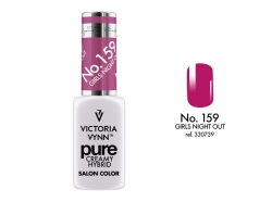 NOWOŚĆ lakier hybrydowy Girls Night out 8 ml (159) VICTORIA VYNN PURE