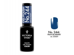 GEL POLISH LAKIER HYBRYDOWY FRESH BLUEBERRY 8 ML (244) VICTORIA VYNN
