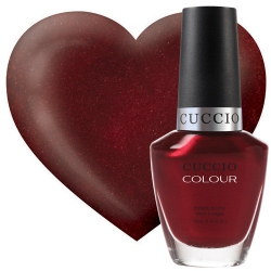 Cuccio 6029 Lakier do paznokci 13 ml Moscow Red Suare