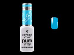 032 Turquoise Island - kremowy lakier hybrydowy Victoria Vynn PURE (8ml)