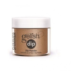 Puder do manicure tytanowy - GELISH DIP - Bronzed & Beautiful 23 g (1610074)