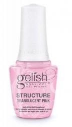 Żel do budowania paznokcia - Strukturalny w pędzelku - 15 ml GELISH HARD GEL STRUCTURE - przezroczysty róż