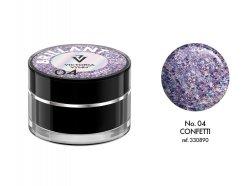Brillant Gel 04 Confetti 5g Victoria Vynn - Brylantowy żel do zdobień
