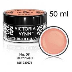 No.09 Mleczny cielisty żel budujący 50ml Victoria Vynn Milky Peach