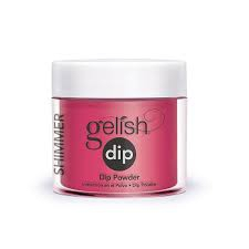Puder do manicure tytanowy - GELISH DIP - Gossip Girl 23 g - (1610819)